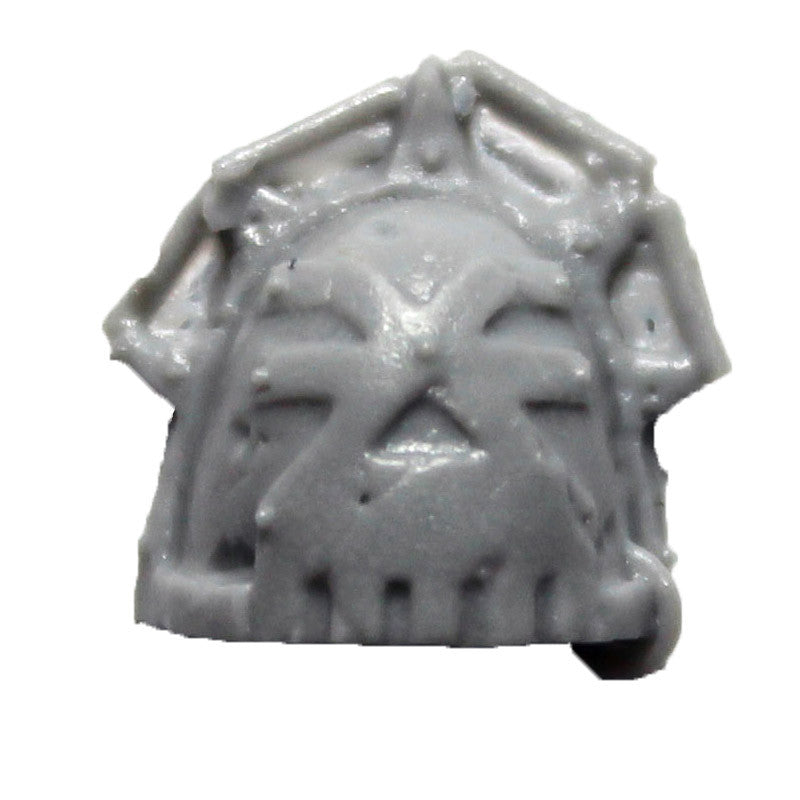 Warhammer 40K Forgeworld World Eaters Khorne Shoulder Pad B Upgrade