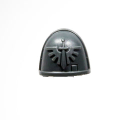 Warhammer 40K Space Marine Deathwatch Kill Team Shoulder Pad Dark Angels