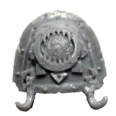 Warhammer 40K Forgeworld World Eaters Khorne Shoulder Pad H Upgrade