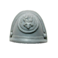 Warhammer 40K Forgeworld Imperial Fists Command Squad Shoulder Pad L A