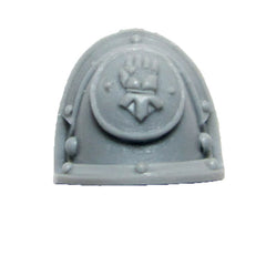 Warhammer 40K Forgeworld Imperial Fists Command Squad Shoulder Pad L B
