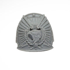 Warhammer 40K Forgeworld Imperial Fists Rogal Dorn Shoulder Pad Left