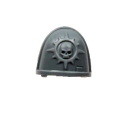 Warhammer 40K Space Marine Deathwatch Kill Team Shoulder Pad Novamarines