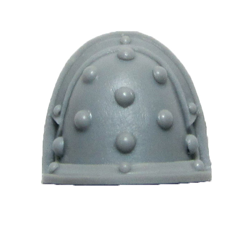 Warhammer 40K Forgeworld Imperial Fists Command Squad Shoulder Pad R A Studded