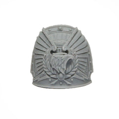 Warhammer 40K Forgeworld Imperial Fists Rogal Dorn Shoulder Pad Right