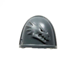 Warhammer 40K Space Marine Deathwatch Kill Team Shoulder Pad Salamanders