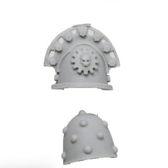 Warhammer 40K Space Marines Forgeworld Legion Praevian Shoulder Pad Left & Right