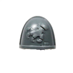 Warhammer 40K Space Marine Deathwatch Kill Team Shoulder Pad Brazen Claws