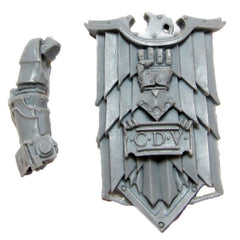 Warhammer 40K Forgeworld Imperial Fists Alexis Polux Storm Shield With Arm
