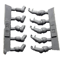 Warhammer 40K Space Marines Forgeworld MKVI Corvus Armour Tactical Arms Set
