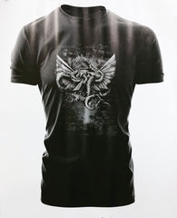 Warhammer 40k Forgeworld Event Only T shirt The Eagle Ensnared Black