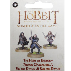 Warhammer World The Hobbit Heirs of Erebor Thorin Fili Kili Dwarf Event