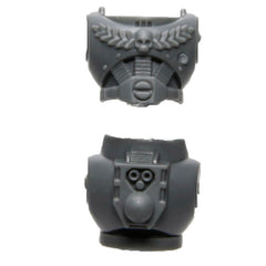 Warhammer 40K Space Marine Devastator Squad Torso E with rear