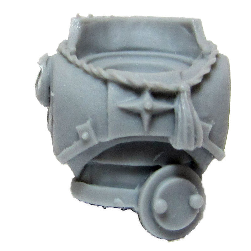 Warhammer 40K Chaos Space Marine Iron Warriors MKII Torso A Upgrade