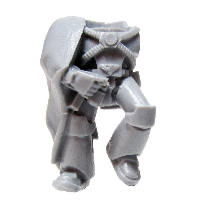 Warhammer 40K Space Marines Forgeworld Legion MKIV Recon Torso Legs A Bits