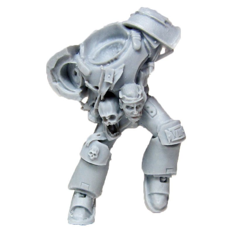Warhammer 40k Forgeworld Chaos Space Marines Night Lords Raptors Torso B Bits