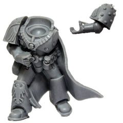 Warhammer 40k Forgeworld Space Marine Raven Guard Mor Deythan Torso Legs Arms B
