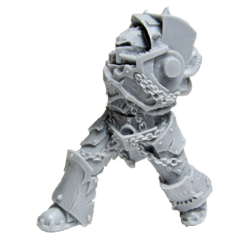 Warhammer 40K Forgeworld World Eater Red Butcher Torso Legs Head C Bits