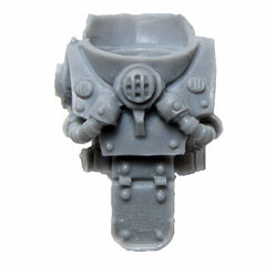 Warhammer 40k Forgeworld Chaos Space Marines Death Guard Nurgle MKIII Torso C