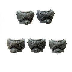 Warhammer 40K Space Marine Torso D x5 includes backs
