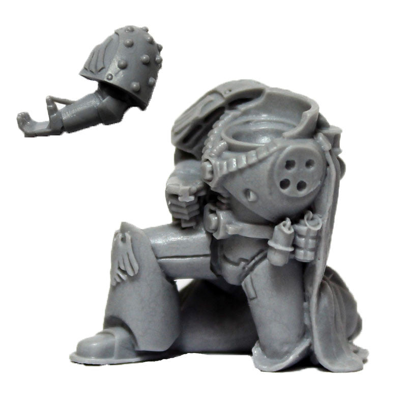 Warhammer 40k Forgeworld Space Marine Raven Guard Mor Deythan Torso Legs Arms D