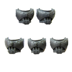 Warhammer 40K Space Marine Torso E x5 includes backs