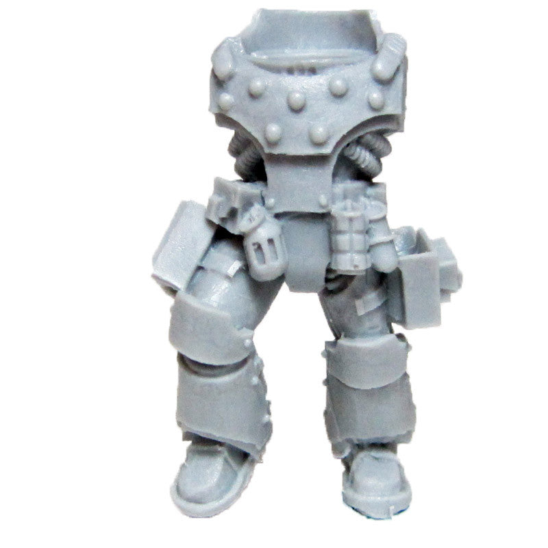 Warhammer 40K Space Marines Forgeworld Legion MKIV Destroyer Torso Legs F Bits