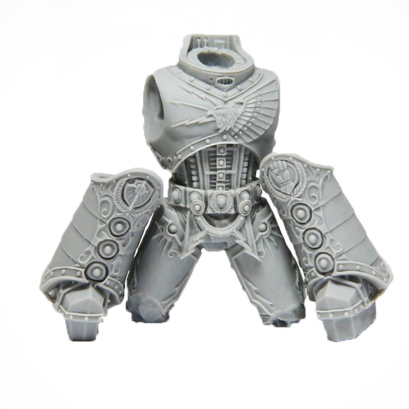 MKII Imperial Fists Forgeworld Shoulder Pad *BITS*
