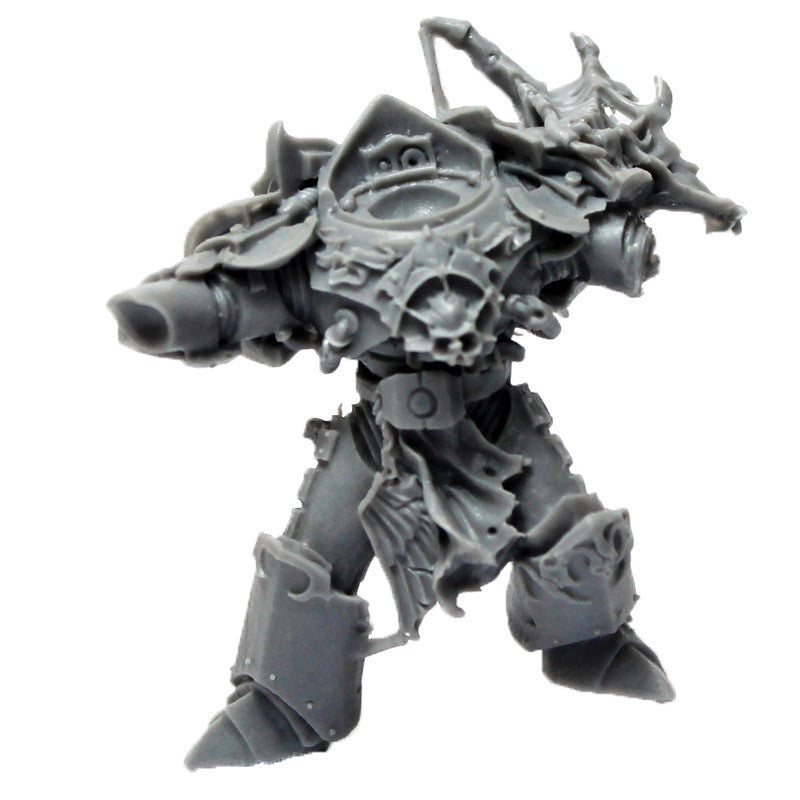 Warhammer 40K Forgeworld Space Marines Night Lords Sevatar Torso Legs