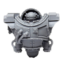 Warhammer 40K Space Marine Iron Warriors Iron Circle Domitar Torso