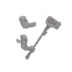 Necromunda Orlock Weapons Set 2 Two Handed Hammer