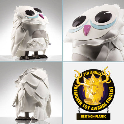 Event: Designer Toy Awards 2017 - COARSE x Flat Bonnie - Omen Totem Puff - Owl Art