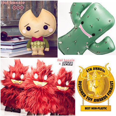 Event: Designer Toy Awards 2016 - Best Non-Plastic Finalists Cactus Kookie Honoo