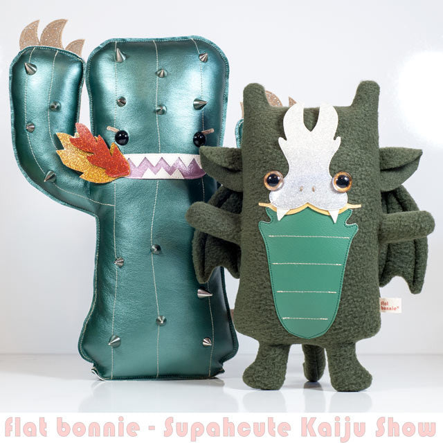 Flat-Bonnie-Cactus-Kaiju-Dragon-Plush-Stuffed-Animal-Supahcute-C2289-IG