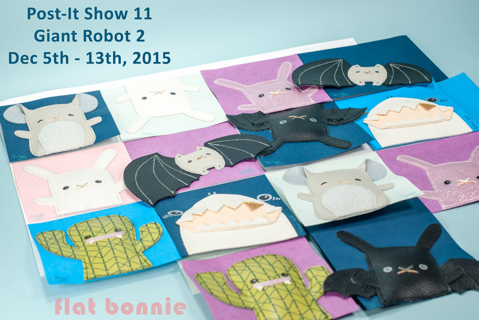Flat-Bonnie-Post-It-Show-11-Giant-Robot-Shark-Bunny-Cactus-Chinchilla-C6280-640