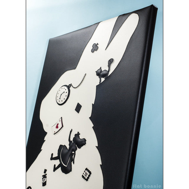 Flat-Bonnie-White-Rabbit-Disney-Alice-Through-The-Looking-Glass-Art-Show-HCG-D0037-ATTLG-IG