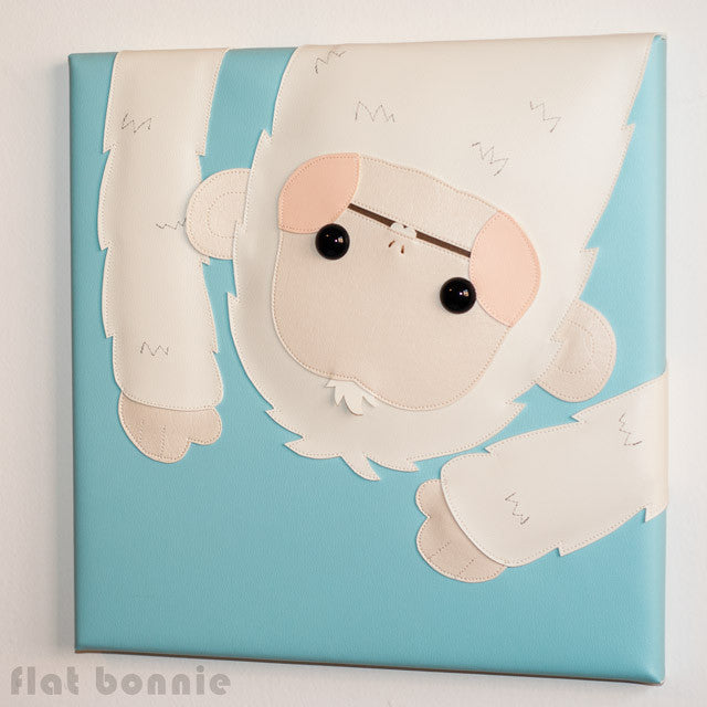 FlatBonnie-Year-Of-The-Monkey-Giant-Robot-Arctic-wall-art-C7177