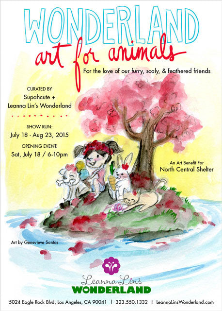 Wonderland Art for Animals WAFA Leanna Lin's