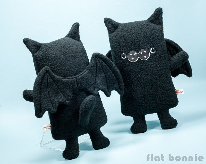 BatCat the Cat x Bat plush stuffed animal - Plush Stuffed Animal - Flat Bonnie - 1