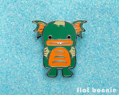 Dobichan Swamp Monster enamel pin - Kawaii backpack pin