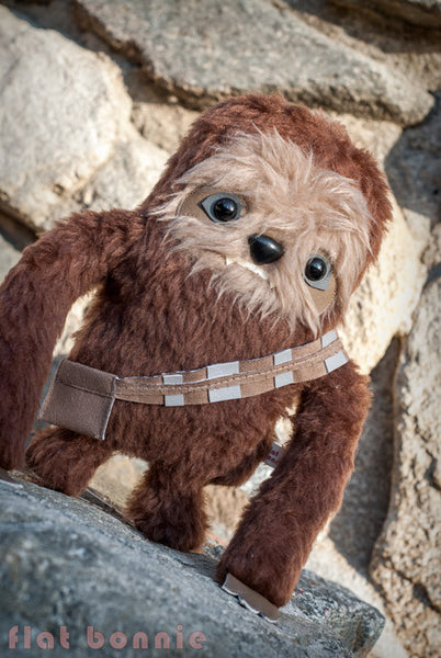 Chew-Loth - SDCC2015 preorder - Manny the Sloth in his Chewbacca cosplay - Plush Stuffed Animal - Flat Bonnie - 2
