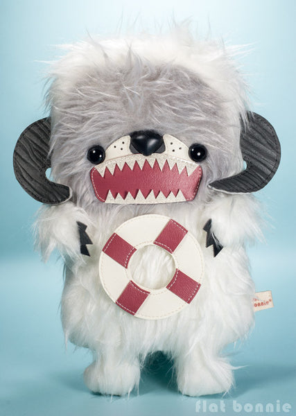 Comic-Con San Diego Pre-Order - Leo the Otter as Rescue Wampa - Limited edition plush - Plush Stuffed Animal - Flat Bonnie - 3