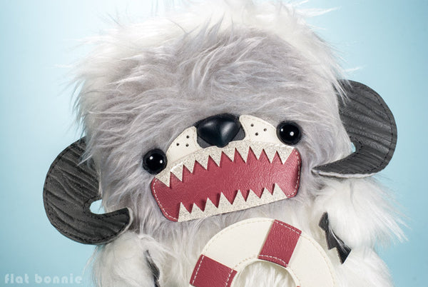 Comic-Con San Diego Pre-Order - Leo the Otter as Rescue Wampa - Limited edition plush - Plush Stuffed Animal - Flat Bonnie - 1