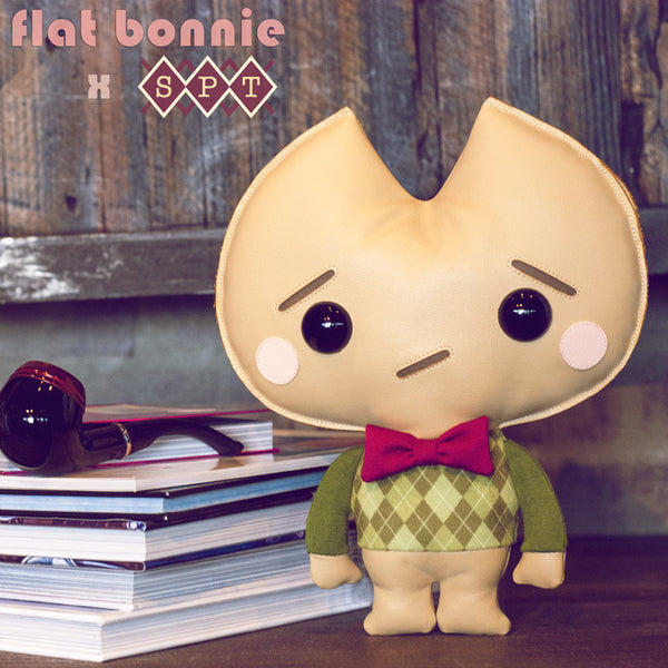 Kookie No Good plush - Argyle Edition - Plush by Flat Bonnie x Scott Tolleson - Plush Non Animal - Flat Bonnie - 2