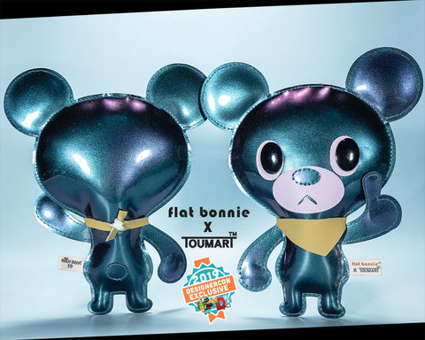 Flat Bonnie x Touma Collaboration - DesignerCon 2019 Exclusive - Hitch Bear plush - 1