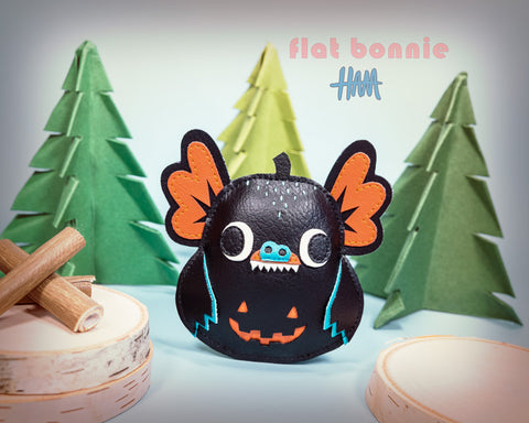 Mini 'Mees Pocket Daruma - Hermees collaboration Flat Bonnie x Gary Ham - 1
