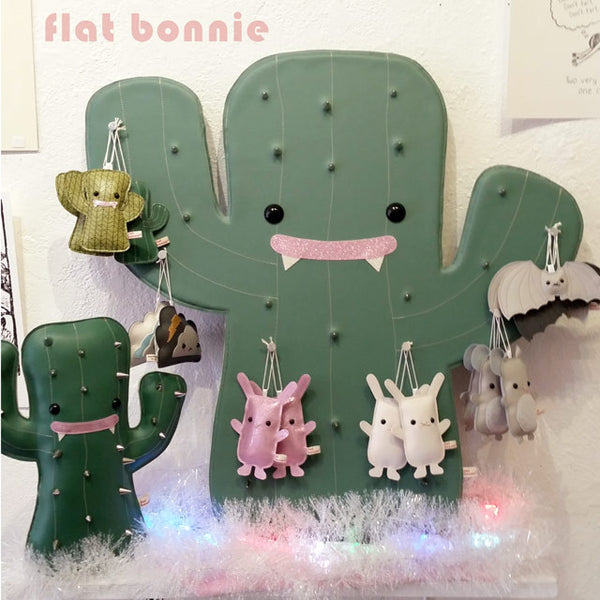 Holiday ornaments - Flat Bonnie mini characters - Travel buddy - Ornament - Flat Bonnie - 4