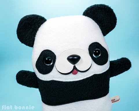 Panda plush - Handmade stuffed animal