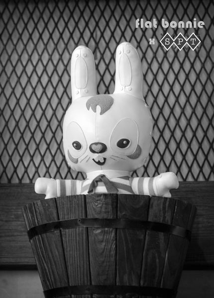 Mr. Pinkerton - Plush by Flat Bonnie x Scott Tolleson - Plush Stuffed Animal - Flat Bonnie - 4