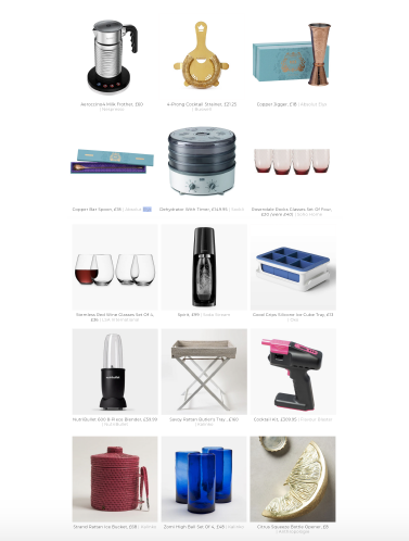 Absolut Elyx Boutique in SheerLuxe's feature on expert-approved bar tools